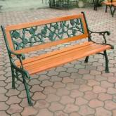 园林铁木坐椅